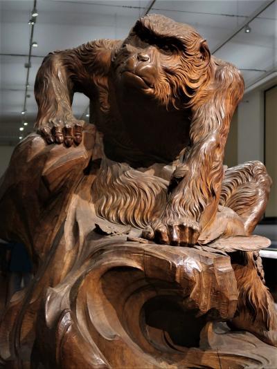 東博-8 老 猿《近代の美術》東洋館-セクメト女神像・菩薩立像 ☆国立西洋美術館‐改修中