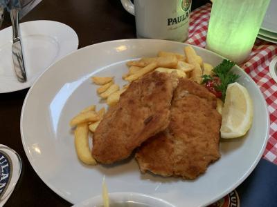 シュバンハイムとケルスターバッハとドイツ食。