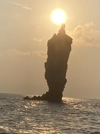 600万年前の火山の島~ジオサイト隠岐 ローソクの火が灯った‼