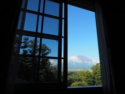 富士山の目の前の人気ペンションに泊まってみよう!くりの木の下