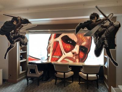 ロイヤルパークホテル 進撃の巨人 コラボルームに泊まってきた
