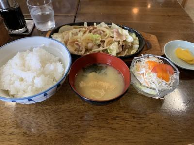 秋田市の「食堂」を食べ歩く(その1)。