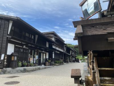 2021年8月 青春18きっぷで行く木曽の旅(2日目・木曽福島編)
