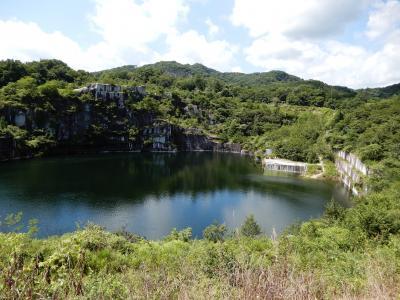 地図にない池のある石切山脈のプレミアムツアーに参加しました。そのちょっと前に常陸国出雲大社を参拝。