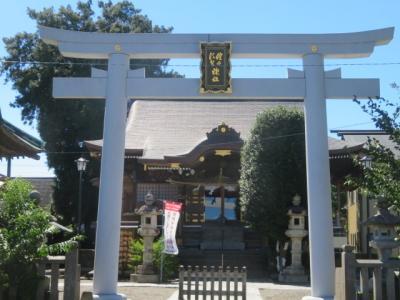結城市街(結城駅から称名寺・健田須賀神社)を散策しました