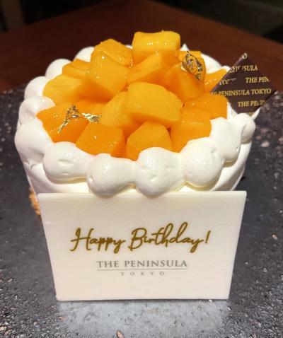 2021年8月 Birthday Bash ペニンシュラ東京