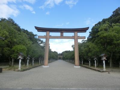 2021夏 関西2:日本百名山の大台ケ原へ 橿原神宮と大滝茶屋