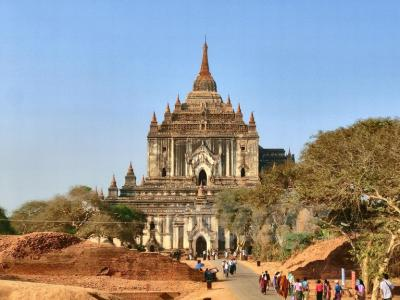 母と娘のミャンマー6日間!vol.7~世界遺産バガン編3:寺院巡り午後の部
