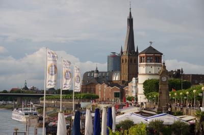 北ドイツの小さな街めぐり(1) デュッセルドルフ
