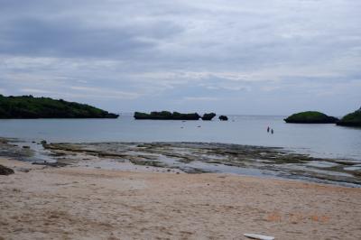 西表島初日は星砂海岸でシュノーケル