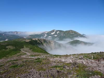 大雪山♪黒岳・北鎮岳・北海岳・層雲峡