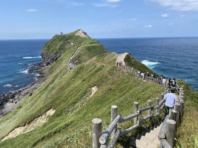 2021年8月 北海道9日間(5)積丹ブルーの神威岬と名物うに丼 昼間の小樽スイーツ
