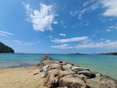 沖縄レベルの海の美しさ 山口県菊が浜