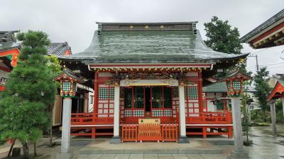 コロナ禍において木曽の御嶽山に行けず。さいたま市田島の御嶽神社に参拝。