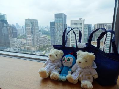 母1人子3人*シャングリ・ラ東京で36時間ホテルステイ*