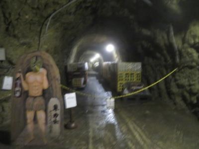 那須烏山の「龍門の滝」を見て「どうくつ酒蔵」を見学しました