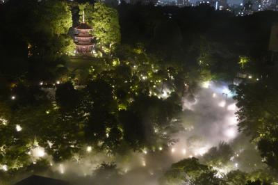 2021年 ふわ~り、現れては消える大都会の雲海 ◆ホテル椿山荘東京◆