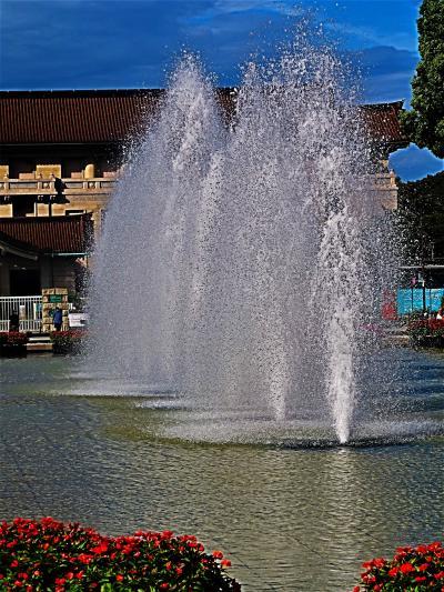 上野-4 竹の台噴水・小松宮騎馬像-西郷隆盛像・JR上野駅 ☆旅行記公開6500冊-達成記念-