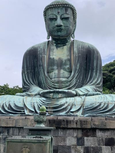2021 7月の鎌倉②鎌倉大仏とその周辺へ