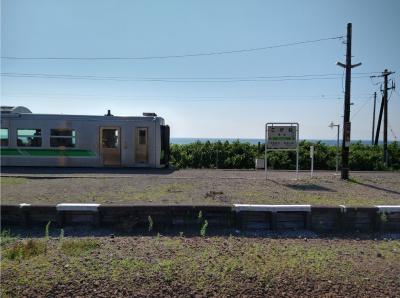 2021年夏休み、北海道をローカル列車でぐるっと一周旅(1-2日目)