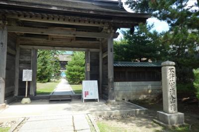 令和の大改修をしている 国指定重要文化財 佐竹藩菩提寺天徳寺に行く