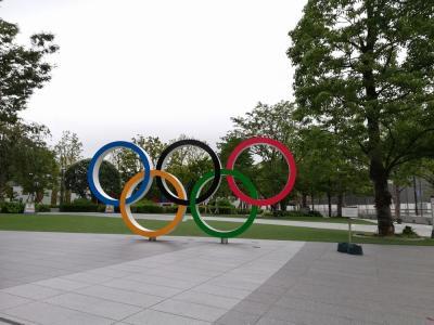 """たまにはベタな観光旅行2108 「東京オリンピックとパラリンピックの合間に""""国立競技場""""を訪れました。」 ~東京~"""