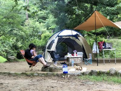 2021キャンプ⑫大阪府能勢町「自然の森ファミリーオートキャンプ場」と冒険の森のせ