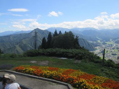 湯沢高原から清津峡へ