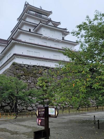 お盆休み旅行「会津と裏磐梯」、その1会津若松観光とメローウッドゴルフ場