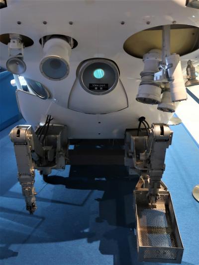上野-6 科博-1 しんかい6500 日本の海洋調査-挑戦の歴史-企画展 ☆大型加速器のあゆみ