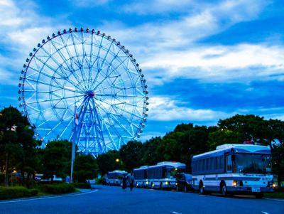 葛西臨海公園 ダイヤと花の大観覧車から東京を見下ろす