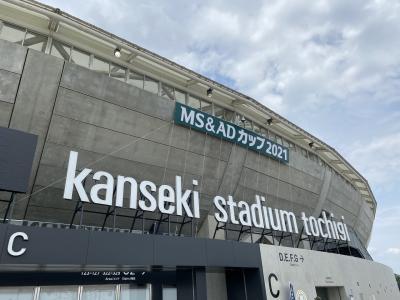【2021】サッカー日本女子代表「なでしこジャパン」観戦 栃木遠征 旅行記【2日目/前編】