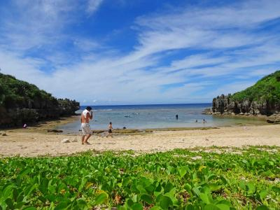 沖縄本島の休日【コロナ感染状況下、ビーチで静かに?】