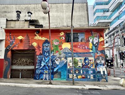 日本の真裏にあるJapão〔ジャポン〕=週末の東洋人街=(リベルダージ地区/サンパウロ/ブラジル)