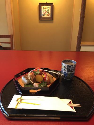 お盆の墓参りのあと京料理 木乃婦で会席料理をいただきました