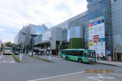 本川越駅付近の風景