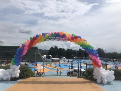 小1娘と3泊4日で熊本★ドラクエウォークとプール遊びの夏休み