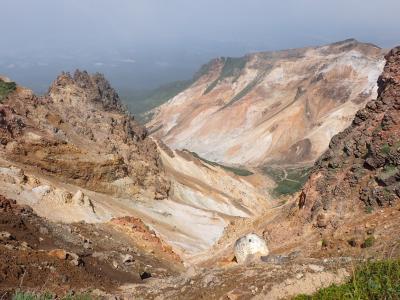 北海道ツーリング 23日目 上富良野岳とカミホロカメットク山へ登りました。