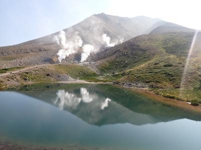 北海道ツーリング 24日目 旭岳姿見の池周辺ハイキング