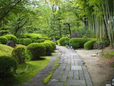 京都洛南 松花堂庭園へ松花堂弁当と吉兆の謎を解きに行く