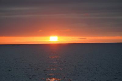 20210823-3 留萌 黄金岬の夕陽を眺める。そして、最終列車で旭川へ…
