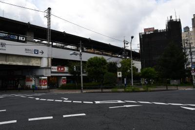 守口で京阪から地下鉄谷町線に乗り換え