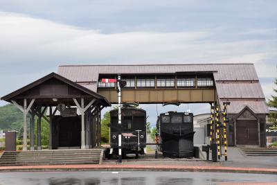 湧別町の中湧別駅記念館とレンガ造り建物2021~名寄本線の鉄道遺産~(北海道)