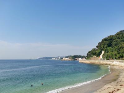 海風を感じながらの旅ラン11キロ ~横須賀~