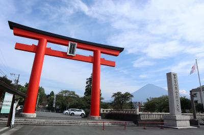 富士山周辺をドライブ