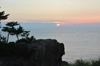 JALどこかにマイル 19回目は出雲へ  初日 出雲のパワースポット巡りと日御碕に沈む夕日