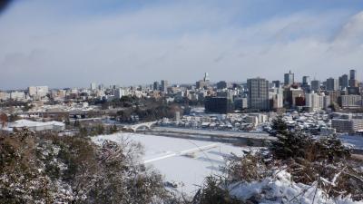 年末年始守ろう心身の健康!厳寒の宮城山形をまわってみた(1)全線復旧した常磐線と雪の仙台城跡を巡る
