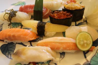 やっと小樽で寿司を堪能しました