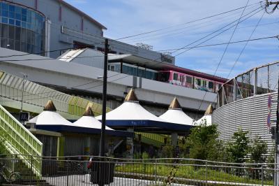 住之江公園駅は地下鉄とニュートラムの乗り換え駅