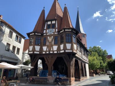 オーデンヴァルトの可愛い町ミヒャエルシュタット。